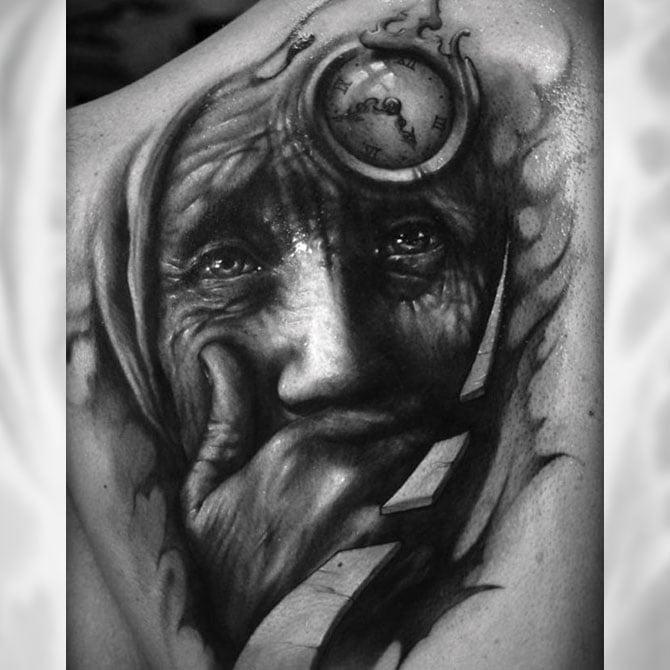 tatoo de louca