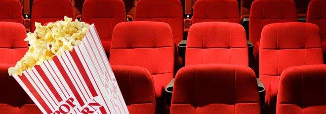 cinema com pipoca